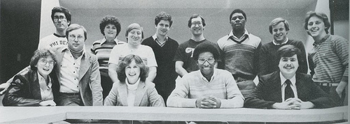 Student Senate '81. Provided by The Quax.