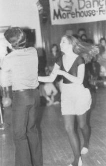 """Feel Like Dancin"" Event during ""Bring Out the Best"" RHA Week 1985 - The Quax 1985"