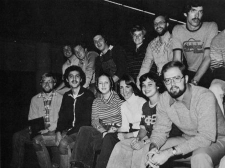 Student Senate '78. Provided by The Quax