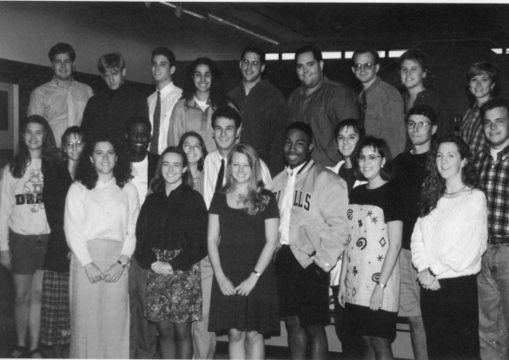 Student Senate '94. Provided by The Quax